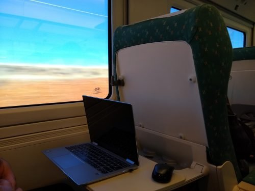 renfe train first class