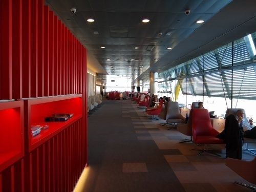 iberia T4S  lounge in Madrid