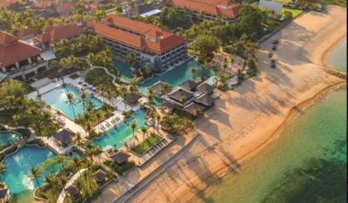 Hilton luxury resorts Conrad Bali