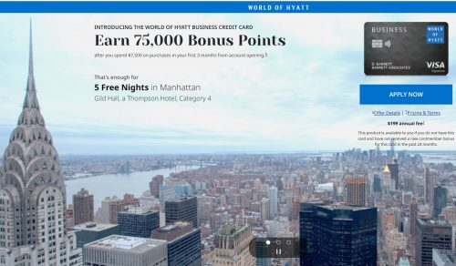 Is the Chase Hyatt Business Credit Card Worth It? 75,000 bonus